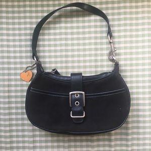 Aeropostale black purse with buckle